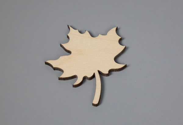 Ahornblatt Aus Holz
